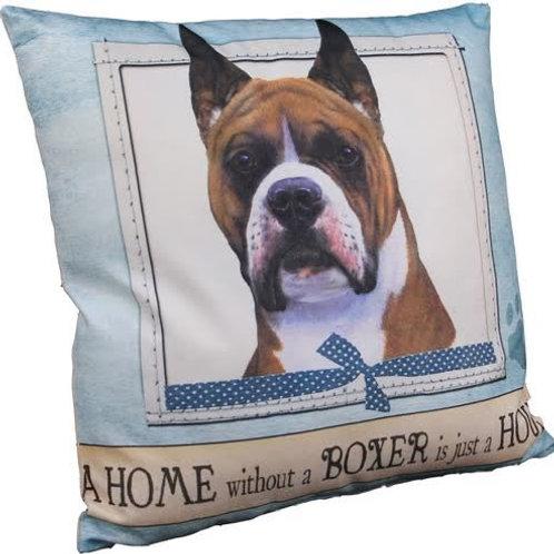 Boxer (cropped) Super Soft Pet Pillows