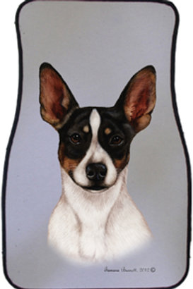 Rat Terrier Best of Breed Car Mats (set of 2)