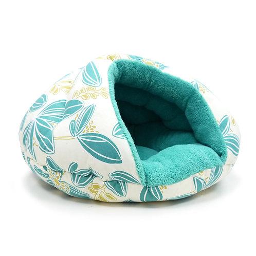 Blue Flower Burger Bed