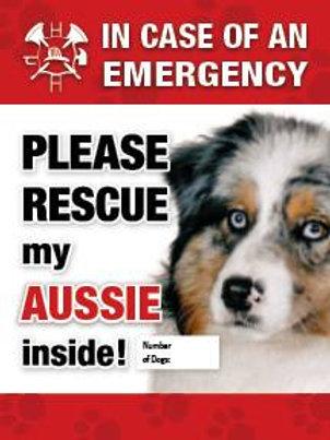 Aussie Safety Pet Decal