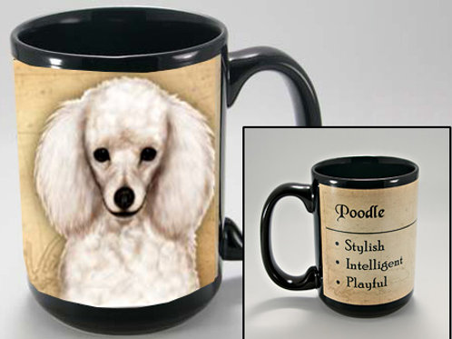 Poodle White - My Faithful Friend Mug