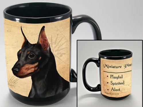 Miniature Pinscher - My Faithful Friend Mug