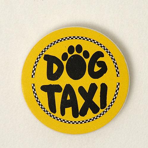 Dog Taxi Car Coaster