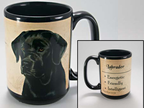 Black Labrador - My Faithful Friend Mug