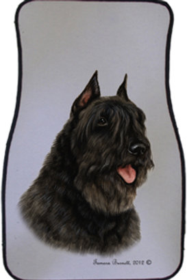 Bouvier des Flandres Best of Breed Car Mats (set of 2)