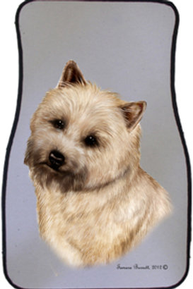 Wheat Cairn Terrier Best of Breed Car Mats (set of 2)