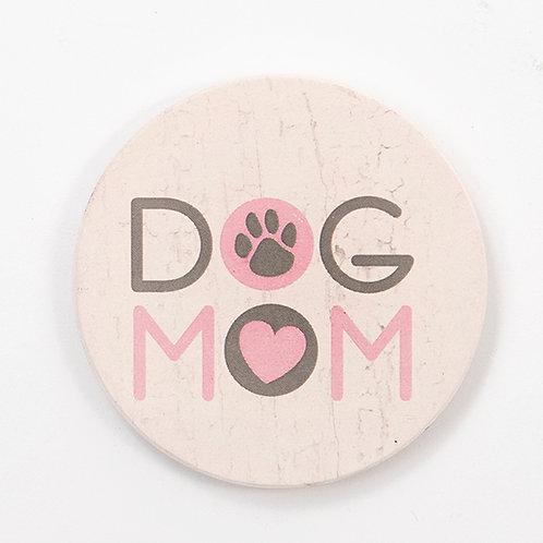 Dog Mom Car Coaster