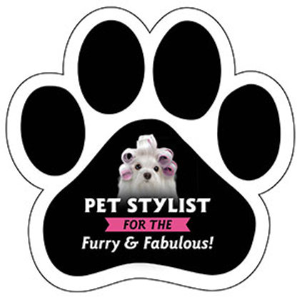 Pet Stylist for the Furry & Fabulous Magnet
