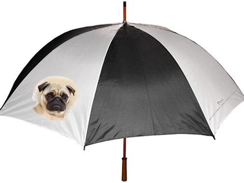 Pug Fawn Umbrella