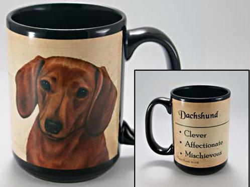 Dachshund (red) - My Faithful Friend Mug