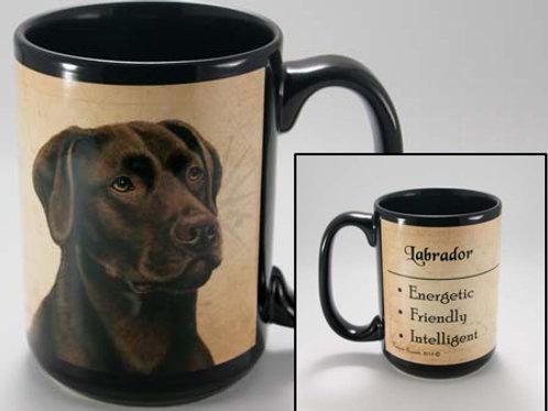 Chocolate Labrador - My Faithful Friend Mug