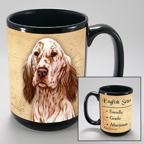 English Setter (Orange) - My Faithful Friend Mug