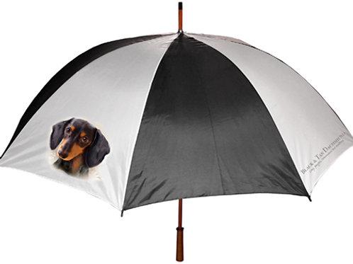 Black & Tan Dachshund Umbrella