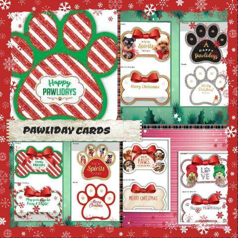 pawliday cards