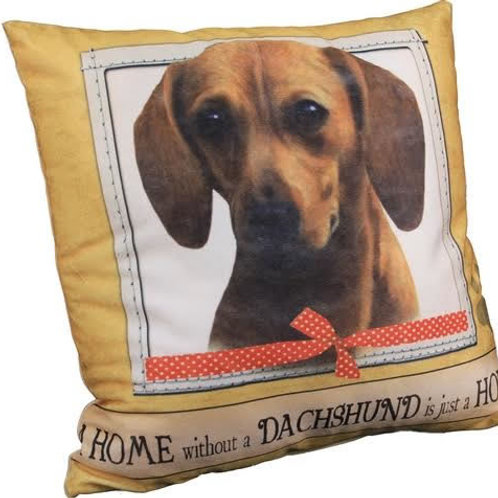 Dachsund Super Soft Pillow