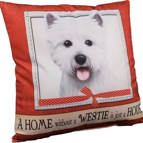 Westie Super Soft Pet Pillow