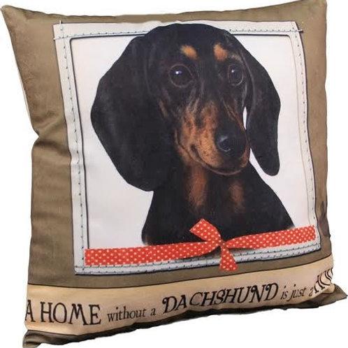 Dachshund - Balck - Super Soft Pet Pillow