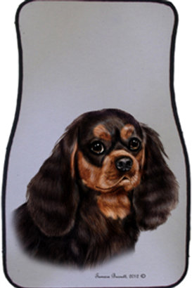 Black & Tan Cavalier King Charles Best of Breed Car Mats (set of 2)