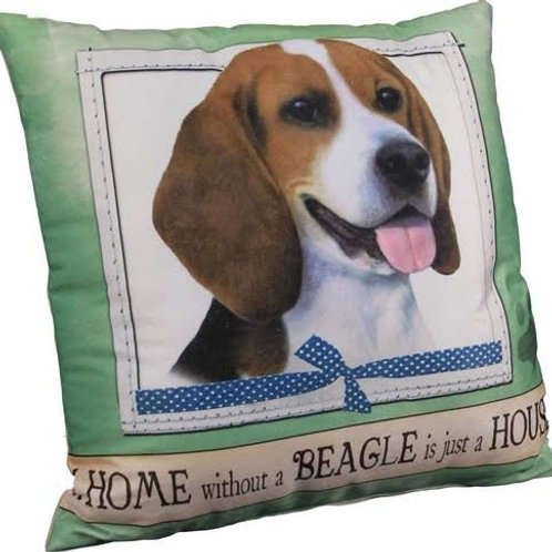 Beagle Super Soft Pillow