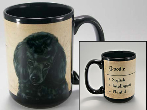 Poodle Black - My Faithful Friend Mug