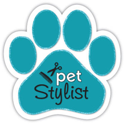 Pet Stylist Magnet (Teal)