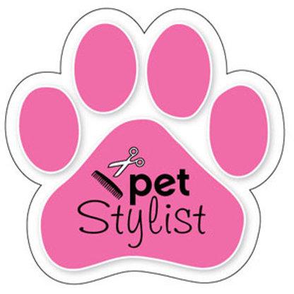 Pet Stylist Magnet (Pink)