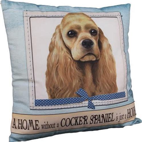 Cocker Spaniel Super Soft Pet Pillow