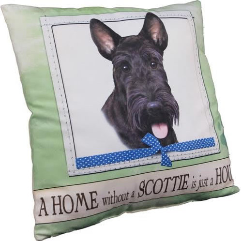 Scottie Super Soft Pet Pillow