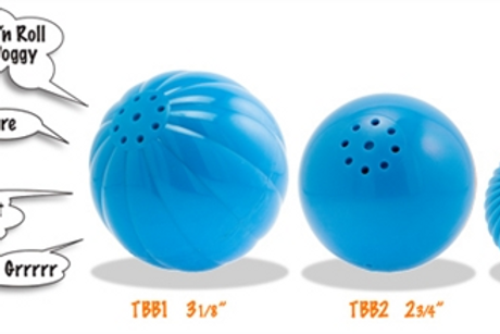 Pet Qwerks Interactive Talking Sounds Babble Ball