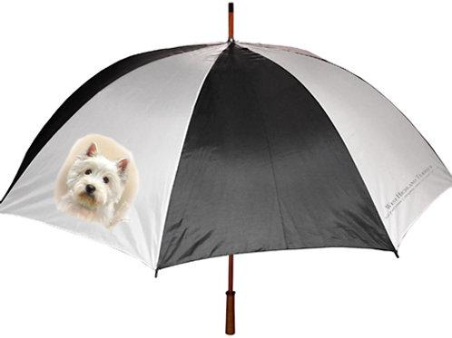 West Island Terrier Umbrella