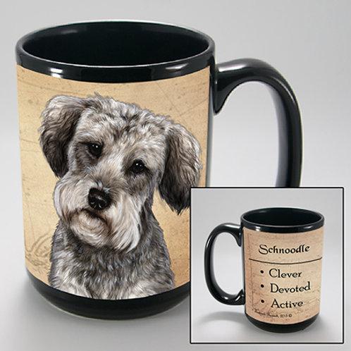 Schnoodle - My Faithful Friends Mug