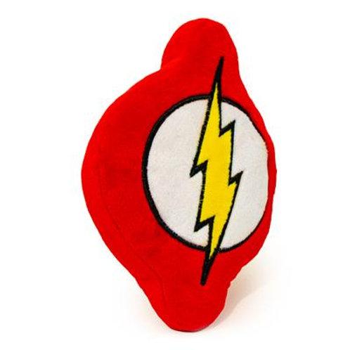 Dog Toy Squeaky Plush - Flash Icon Red/White/Yellow
