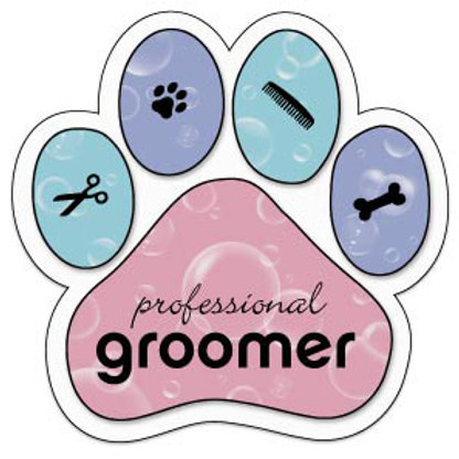 Professional Groomer Magnet