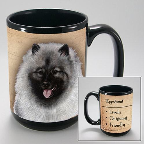 Keeshond - My Faithful Friend Mug