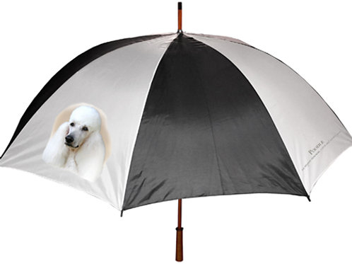 Poodle (White) Umbrella