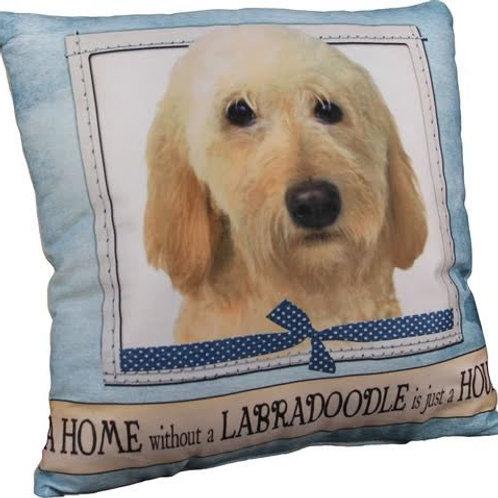 Golden Labradoodle Super Soft Pet Pillow