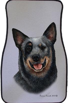 Australian Cattle Dog Best of Breed Car Mats (set of 2)