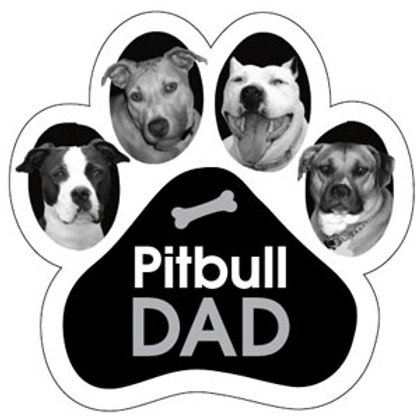 Pitbull Dad Magnet