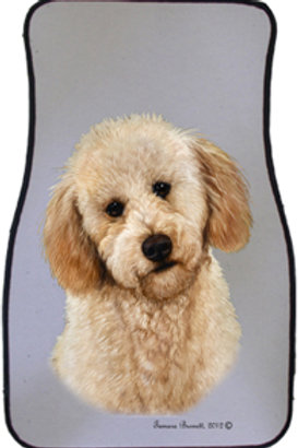 Labradoodle Best of Breed Car Mats (set of 2)
