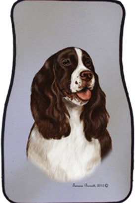 English Springer Spaniel Best of Breed Car Mats (set of 2)