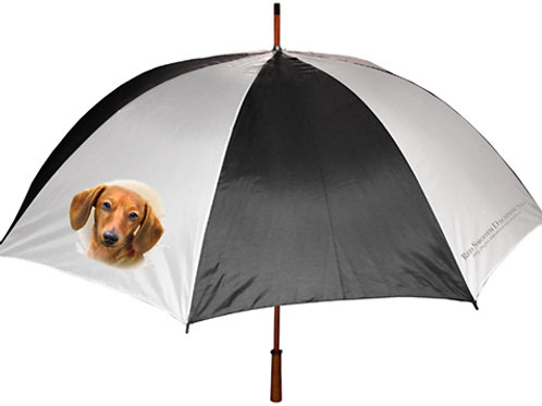 Red Smooth Dachshund Umbrella