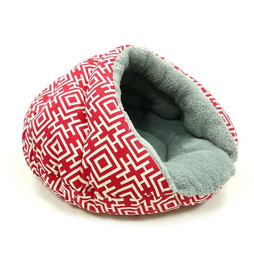 Modern Red Burger Bed