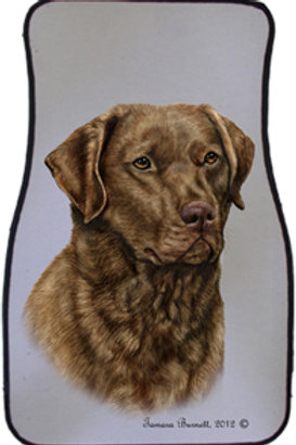 Chesapeake Bay Retriever Best of Breed Car Mats (set of 2)