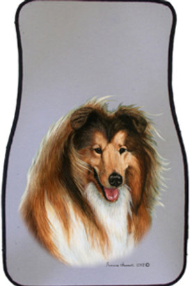 Collie Best of Breed Car Mats (set of 2)