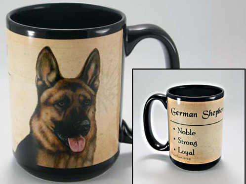 German Sheperd - My Faithful Friend Mug