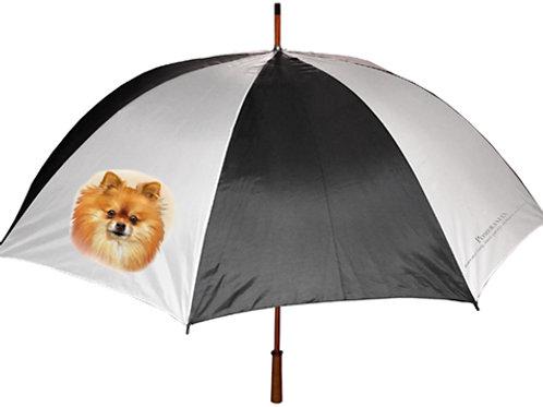 Pomeranian (red) Umbrella