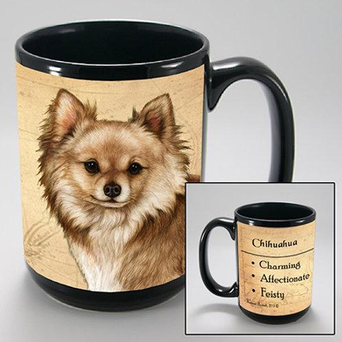 Chihuahua (long haired fawn) - My Faithful Friend Mug