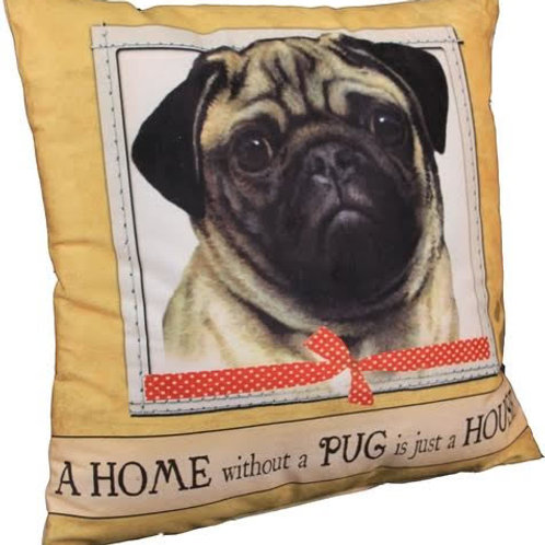 Fawn Pug Super Soft Pet Pillow