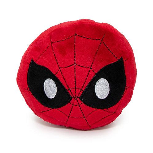 Dog Toy Squeaky Plush - Spider-Man Face Emoji