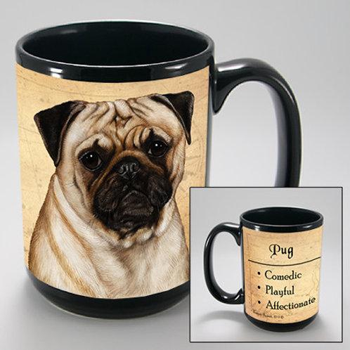 Pug Fawn - My Faithful Friend Mug